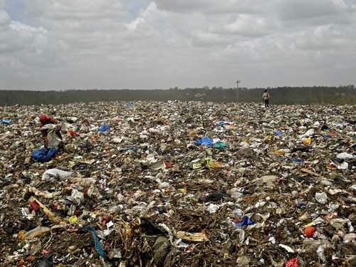 india waste