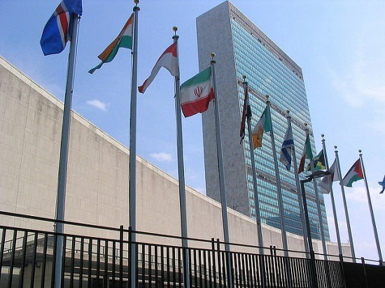 Pic: UN Headquarters