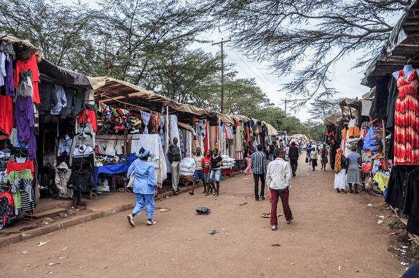 Mitumba Market, Kenya