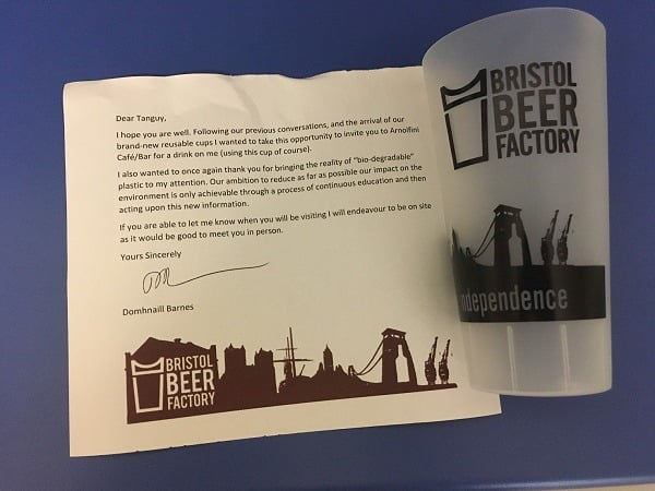 Beer Factory Note