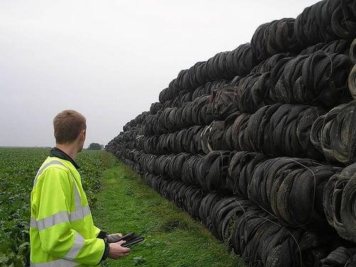 Million tyre man