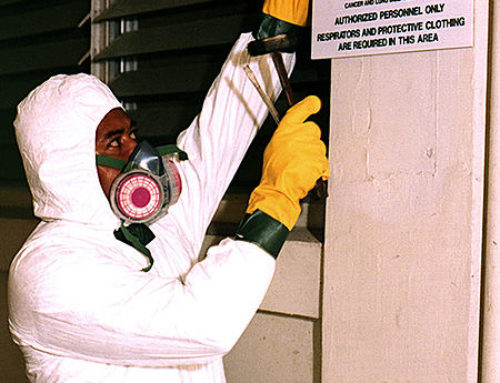 Asbestos: the enemy of the good?