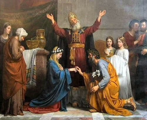 Marriage de la vierge