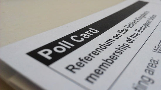 Picture of Referendum Poll Card
