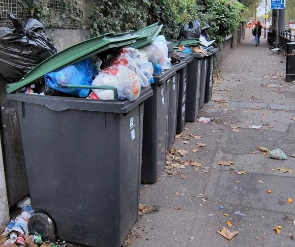 Row-of-bins